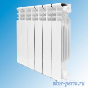 Радиатор биметаллический KONNER 80/350 (98 Вт)