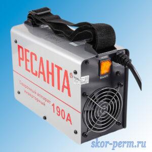 Аппарат сварочный РЕСАНТА САИ-190 инверторный