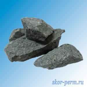 Камни для банный печей БАЗАЛЬТ колотый (10 кг)