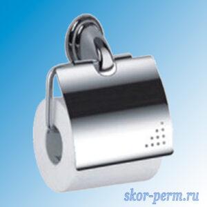 Держатель для туалетной бумаги с крышкой F1503 FRAP