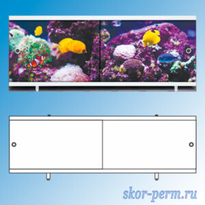 Экран для ванны Ультралегкий 1,7 м
