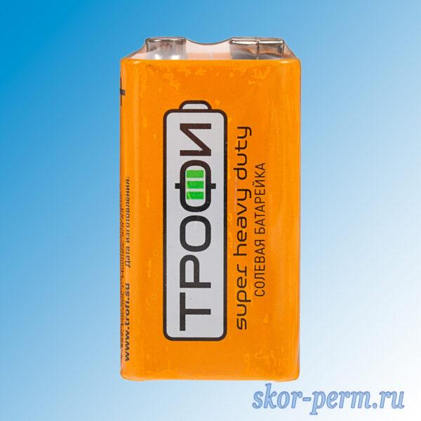 Элемент питания ТРОФИ 6F22-1S 9V