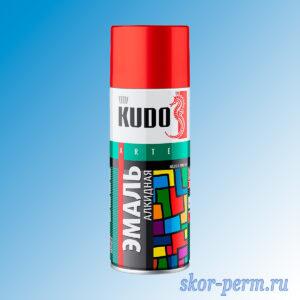 Аэрозоль KUDO Arte эмаль алкидная, синяя-темная, 520 мл