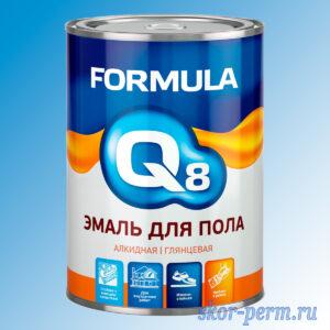 Эмаль для пола FORMULA Q8, 0.9 кг