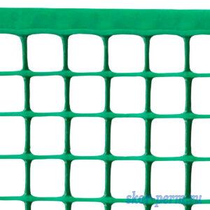 Сетка пластиковая 24х24, 0,5х10 (10 м2) хаки-зеленая (для палисадника)