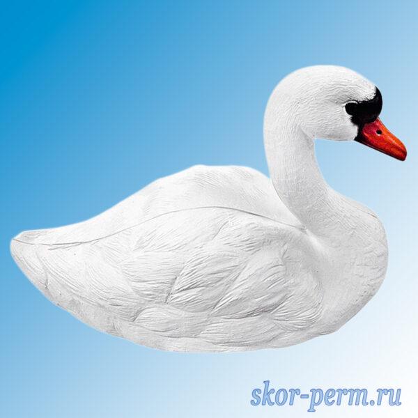 """Фигурка пластиковая для водоема """"Лебедь"""""""