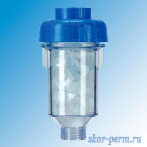 Фильтр магистральный B130 прозрачный 3/4″ (150 г)