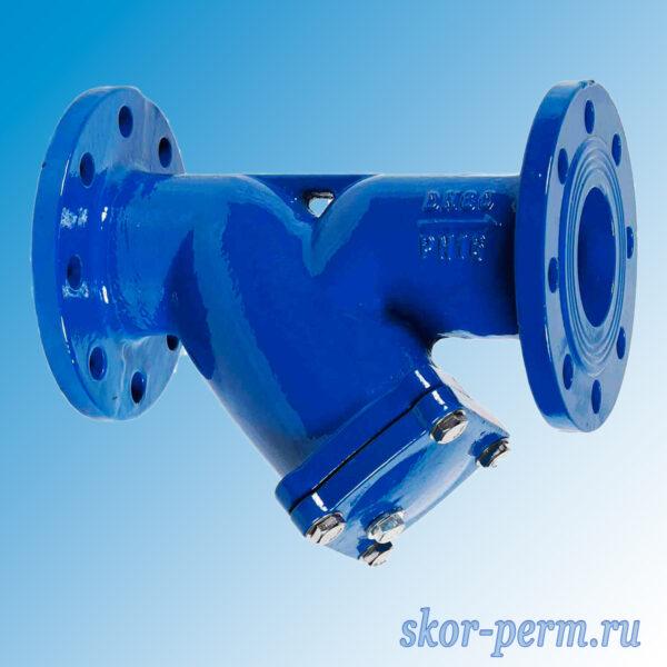 Фильтр магнитный фланцевый Ду80
