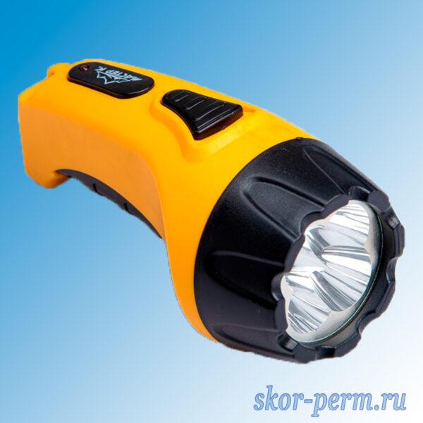 Фонарь аккумуляторный светодиодный W1D4(1W)