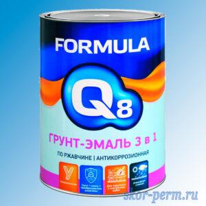 Грунт-эмаль по ржавчине 3 в 1, белый, 0.9 кг