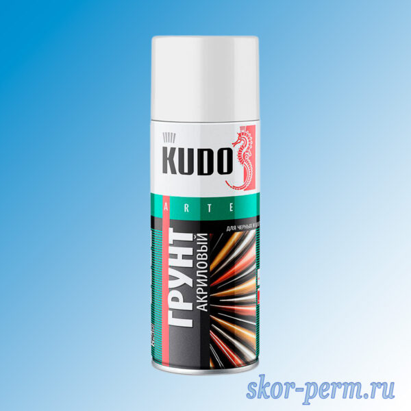 Грунт KUDO акриловый универсальный для черных металлов