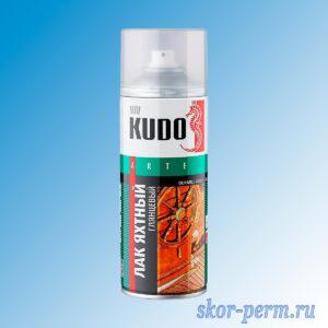 Аэрозоль KUDO лак яхтный глянцевый 520 мл