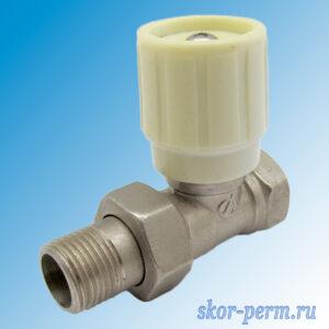 Клапан для радиаторов прямой 15 ARDENZA регулировочный