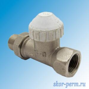 Клапан для радиаторов прямой 15 ARDENZA термостатический