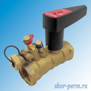Клапан балансировочный ручной DN40 PN25 БРОЕН Venturi FODRV г/г (повышенной пропускной способности с дренажем)