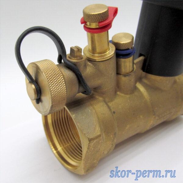 Клапан балансировочный ручной БРОЕН Venturi FODR DN40 PN25 с дренажом
