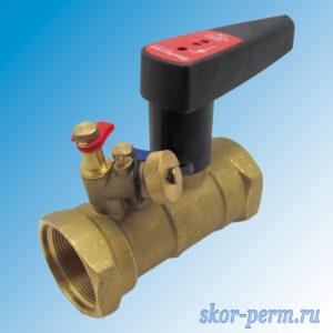 Клапан балансировочный ручной DN50 PN25 БРОЕН Venturi FODRV г/г (повышенной пропускной способности с дренажем)