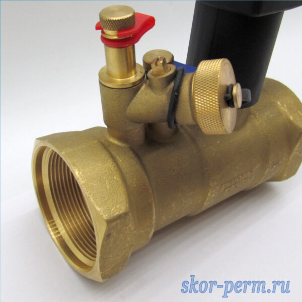 Клапан балансировочный ручной БРОЕН Venturi FODR DN50 PN25 с дренажом