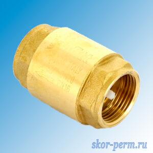 Клапан обратный пружинный 15