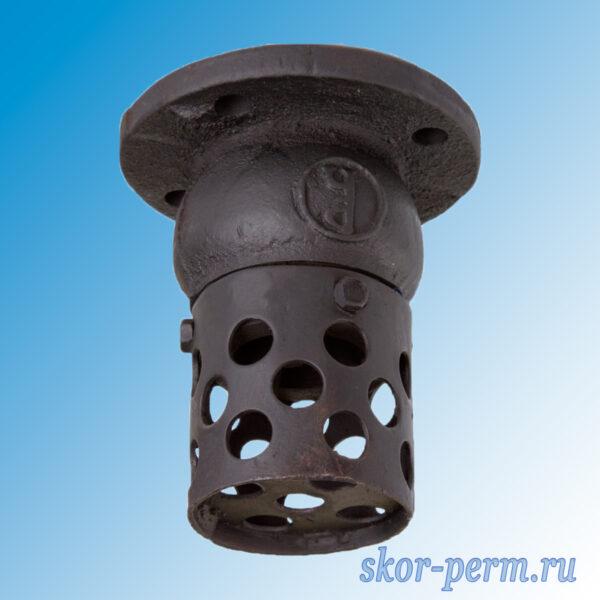 Клапан обратный приемный 16ч42р с сеткой