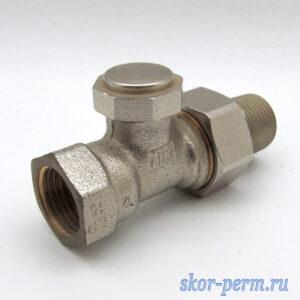 Клапан для радиаторов прямой 15 Verafix отсечной