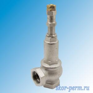 Клапан предохранительный регулируемый 1″ г/г 1-12 бар