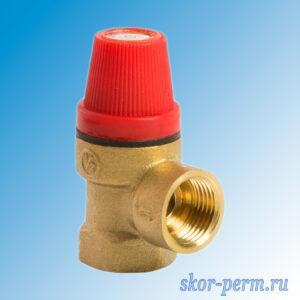 Клапан предохранительный 1/2″ 3,0 бар VERTUM г/г
