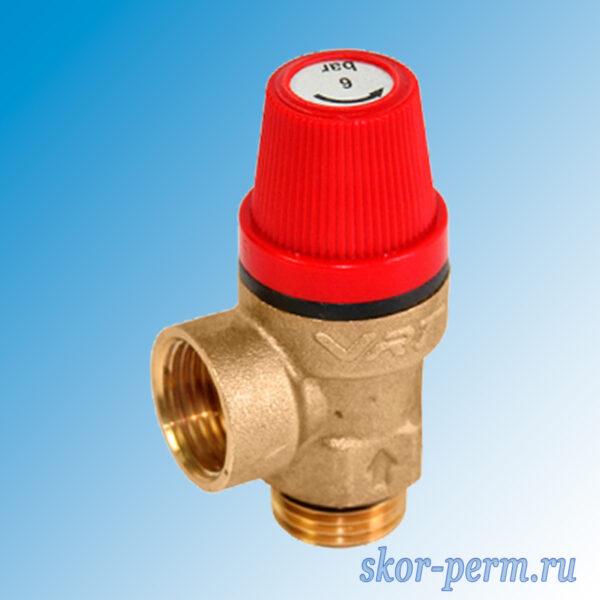 Клапан предохранительный VERTUM 6,0 бар