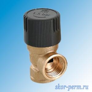 Клапан предохранительный 1/2″ 1,5 бар VALTEC