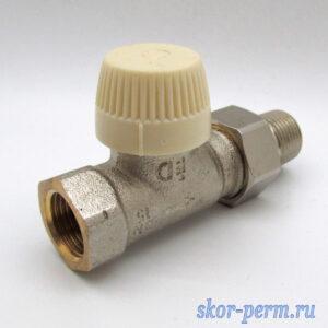 Клапан для радиаторов прямой 15 Verafix термостатический