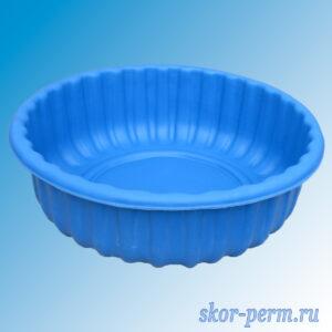 "Клумба пластиковая ""Ромашка"" синяя"