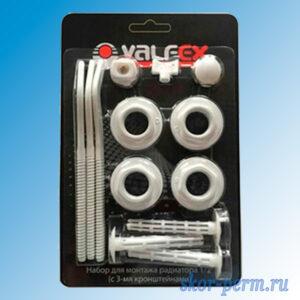 Комплект к радиатору  VALFEX с кроншт. 1/2 (3 кронш.)