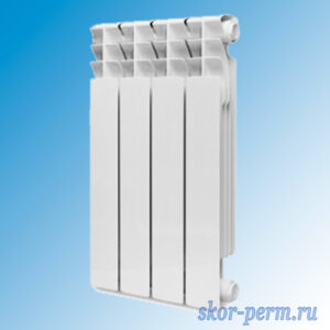Радиатор биметаллический KONNER 100/500 (135 Вт)