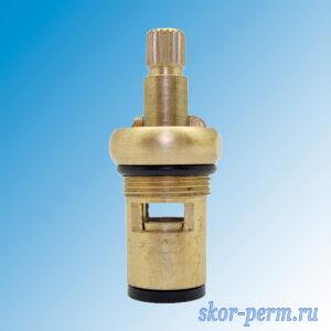 Кран-букса керамическая М18х1 шлица 8х20 угол 180° (Самара)