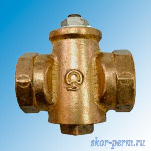 Кран конусный газ 25 11Б39бк