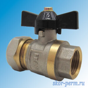 Кран для металлопластиковых труб 20х1/2″ FRAP Ц-ВР