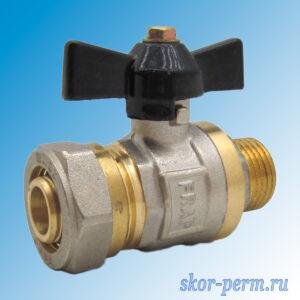 Кран для металлопластиковых труб 20х1/2″ FRAP Ц-НР