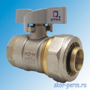 Кран для металлопластиковых труб 26х3/4″ СTМ Ц-ВР