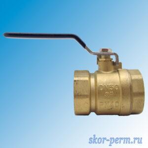 Кран шаровой ZOX 50 Ру30 рычаг г/г