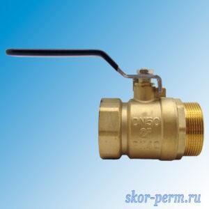 Кран шаровой ZOX 50 Ру30 рычаг г/ш
