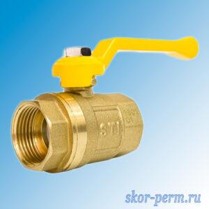 Кран шаровой газ 20 STI рычаг г/г