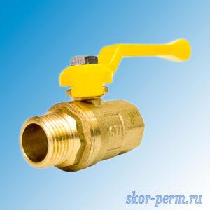 Кран шаровой газ 15 STI рычаг г/ш