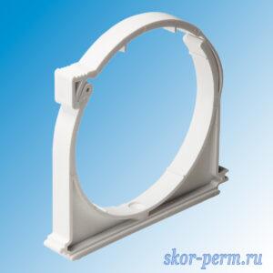 Крепеж ПВХ 110 Бесшумная (белый)