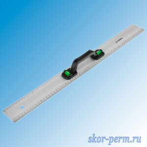 Линейка-уровень металлический 600 мм