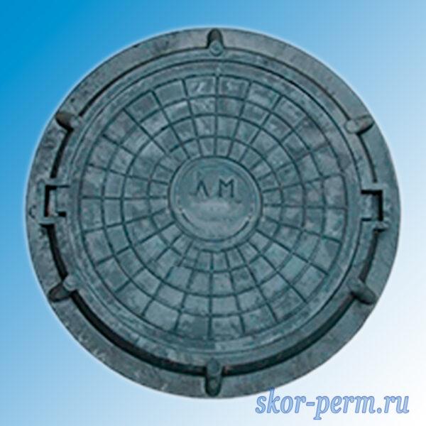 Люк полимерпесчаный легкий 15 кН