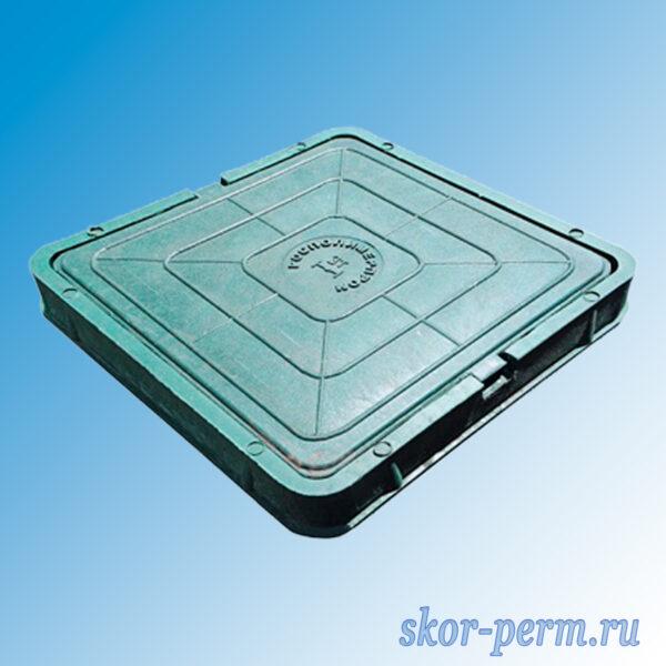 Люк полимерпесчаный легкий 30 кН квадратный