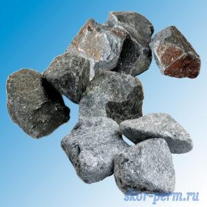Камни для банных печей МИКС (ТАЛЬКОХЛОРИТ, ДУНИТ, КВАРЦИТ) (30 кг)