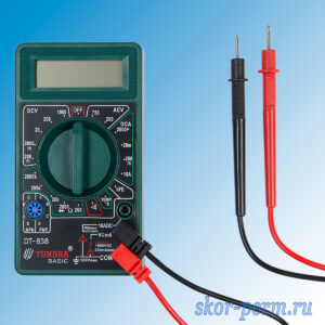 Мультиметр цифровой DT-838