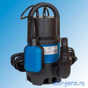 Насос дренажный TAEN FSP-400DW для грязной воды (230В, 400Вт, 7500л/ч, кабель 10м)