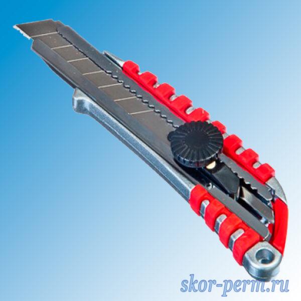 Нож металлический усиленный с сегменым лезвием 18 мм